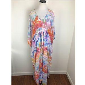 Show Me Your Mumu Maxi Kaftan Dress